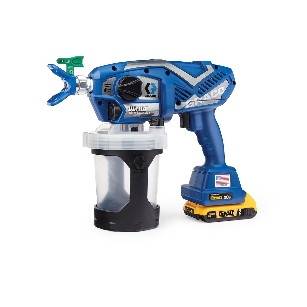 Graco-Ultra Cordless Handheld Airless Paint Sprayer