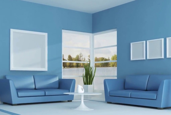 Interior home painting services in Kochi